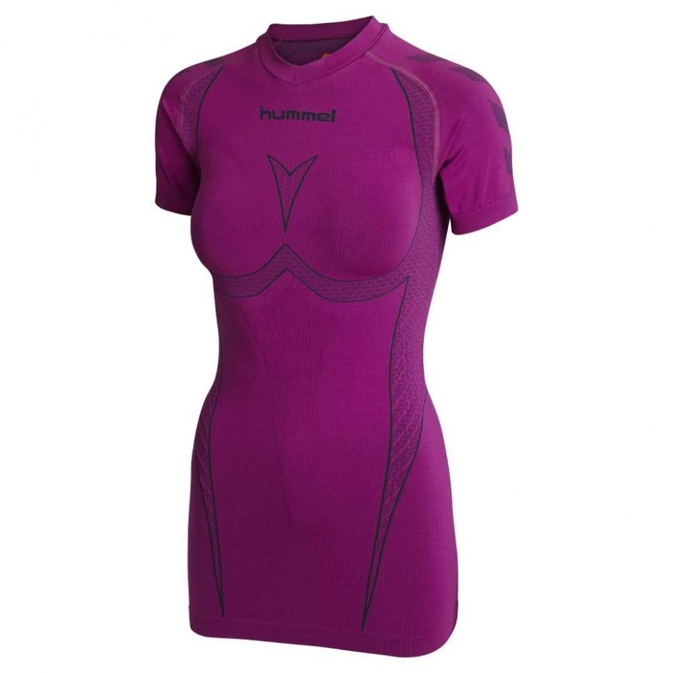 Hummel Hero Woman Baselayer Shirt pink