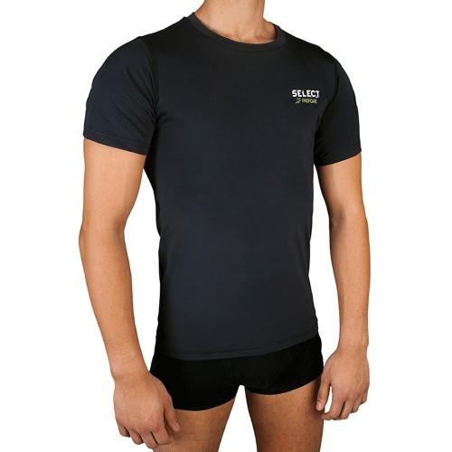Select Kompressionsshirt Kurzarm schwarz
