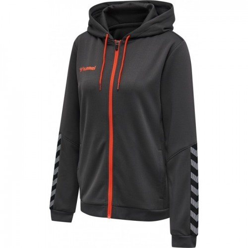 Hummel Hmlauthentic Poly Zip Hoodie Woman