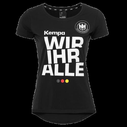 Kempa Wir Ihr Alle T-shirt Women