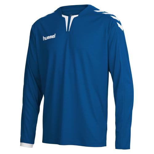 Hummel Langarm-Trikot Core ls Poly Jersey für Kinder dunkelblau
