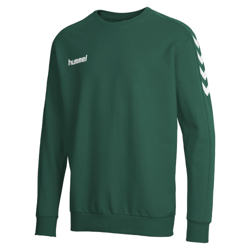 Hummel Core Cotton Sweat dunkelgrün