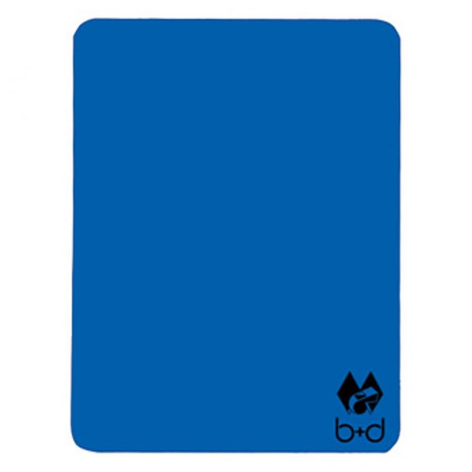 B+D Schiedsrichter-Disziplinarkarte blau
