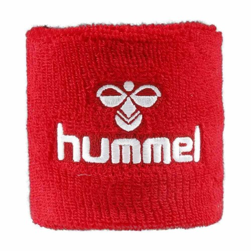 Hummel Old School Small Sweatband rot/white