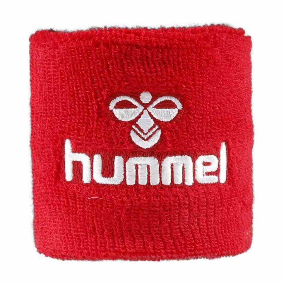 Hummel Old School Small Sweatband rot/white