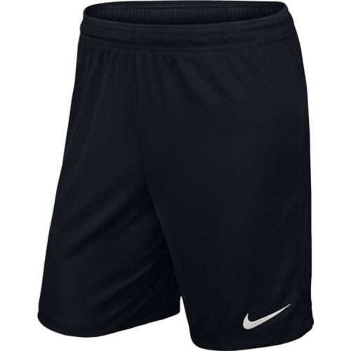 Nike Park II Knit Short ohne Innenhose schwarz