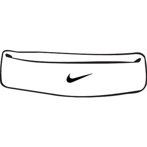 Nike Swoosh Stirnband weiß