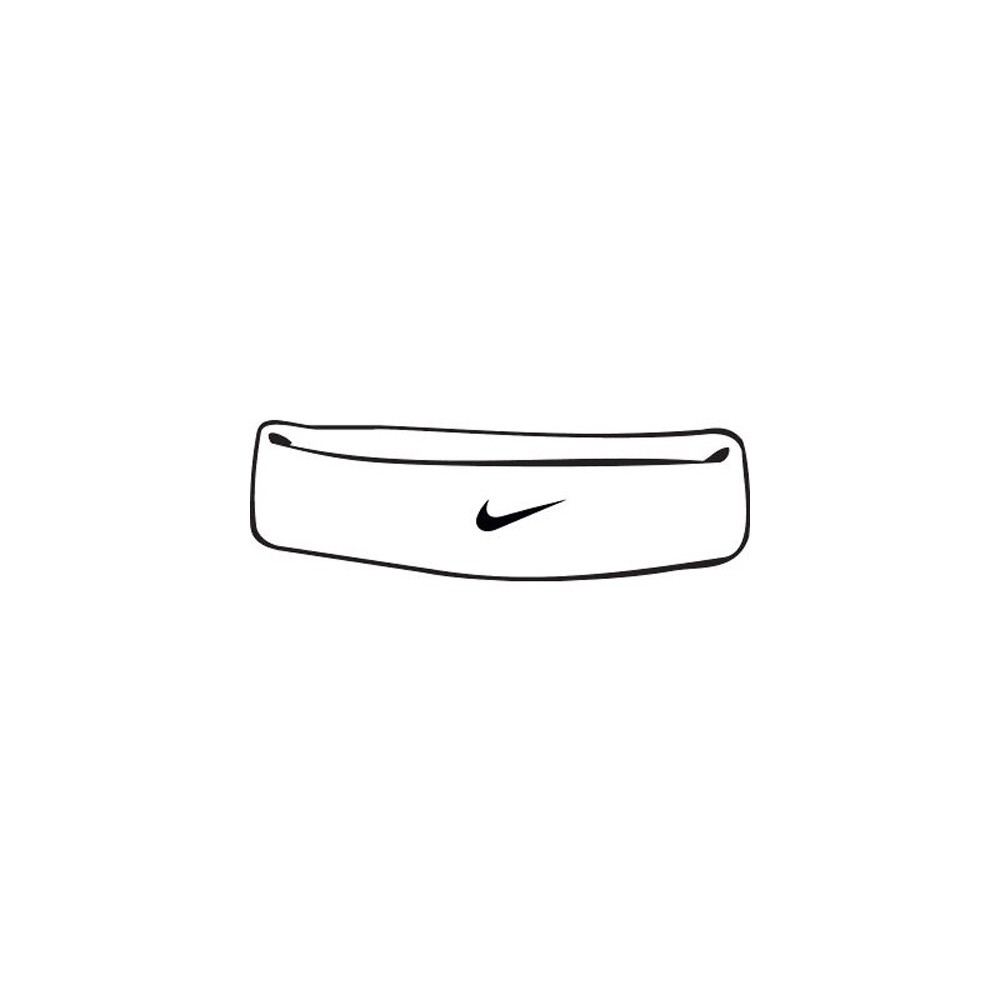deec06c15a6bed Nike Swoosh Stirnband white. Loading zoom