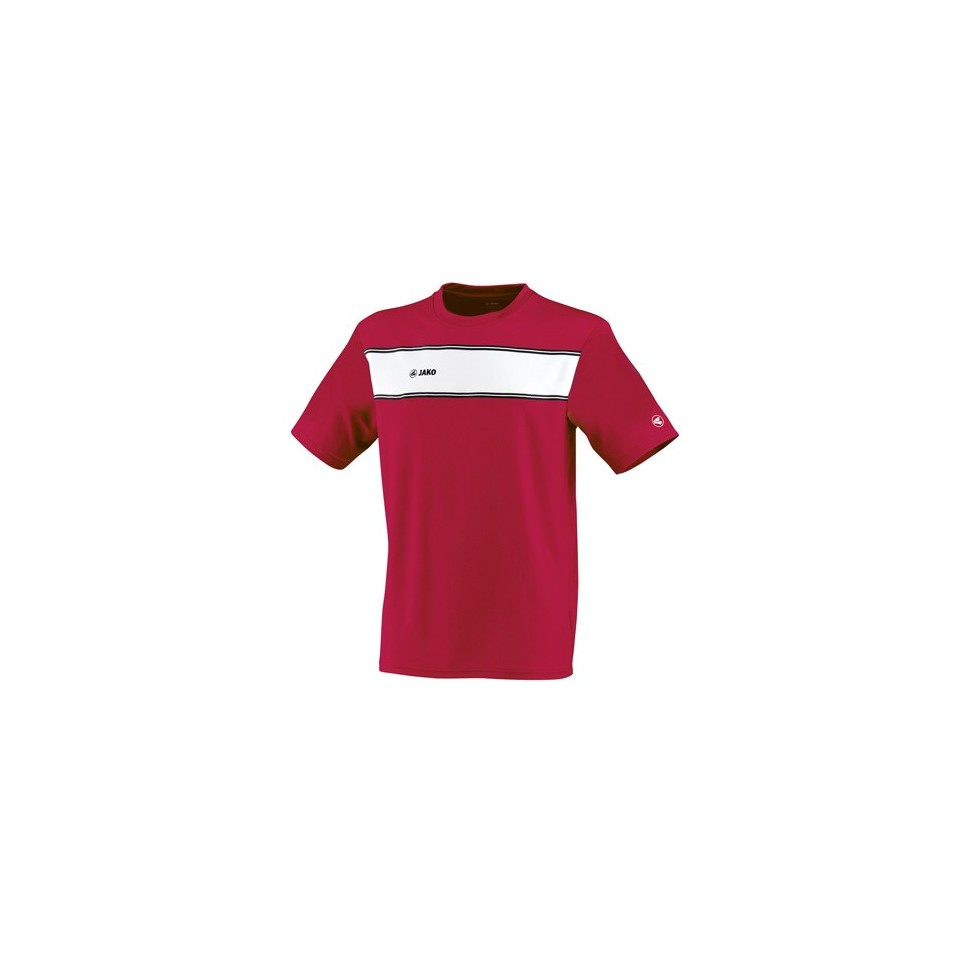 Jako Player Kinder T-Shirt rot/weiß