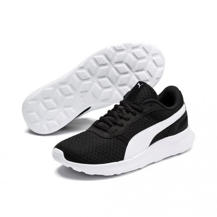 Puma Sneaker, weiß schwarz 32137 auf