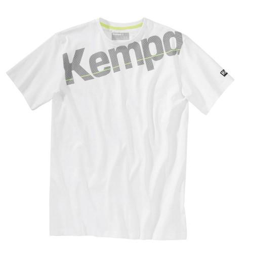 Kempa Core Baumwoll Shirt weiß