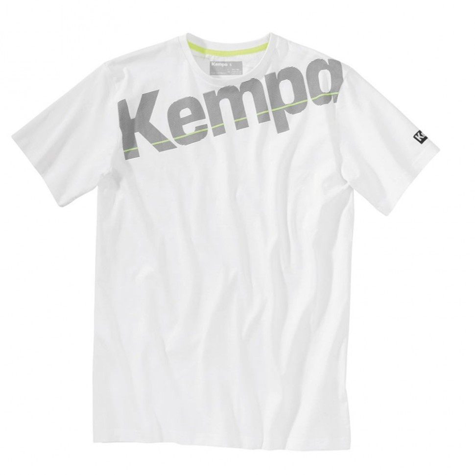 Kempa Core Cotton Shirt white