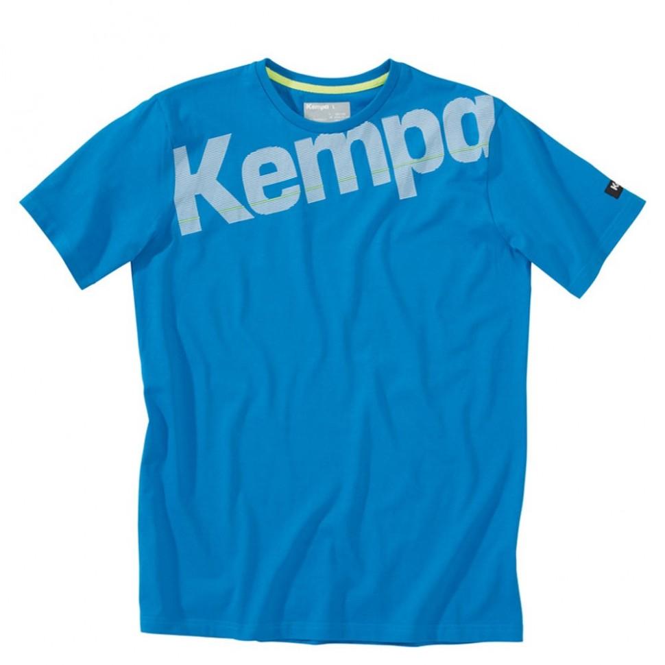Kempa Core Baumwoll Shirt kempablau