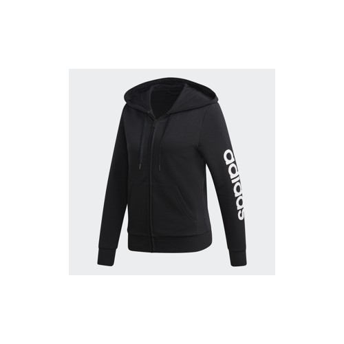 Adidas Essentials Linear Zip Hoodie Women