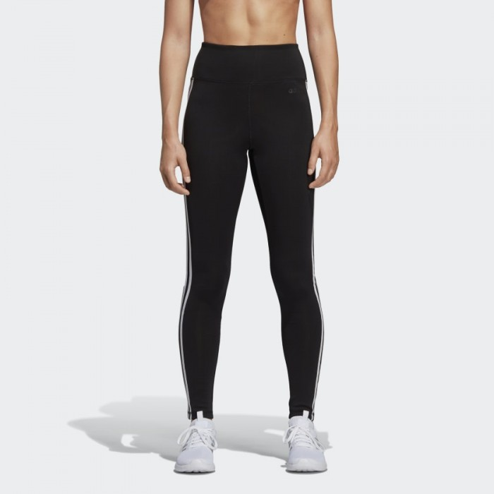 Adidas Design 2 Move 3-Streifen High-Rise Tight Damen