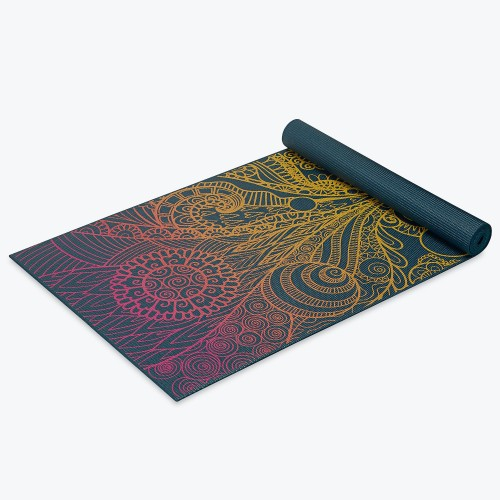 Gaiam Yoga Mat Vivid Zest