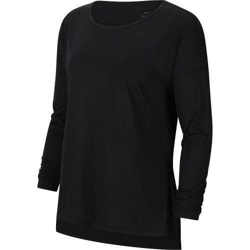 Nike Dri-Fit Yoga Langarmshirt Damen