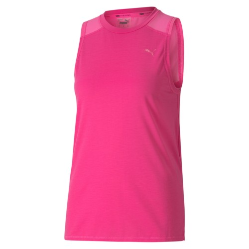 Puma Trainings-Tank-Top mit Mesh-Einsatz Damen