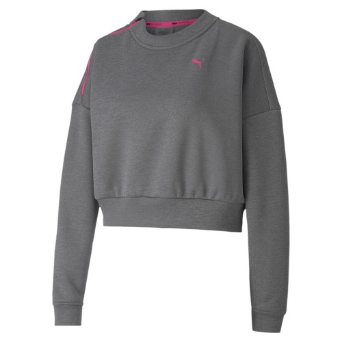 Puma Train Zip Crew Sweatshirt Damen
