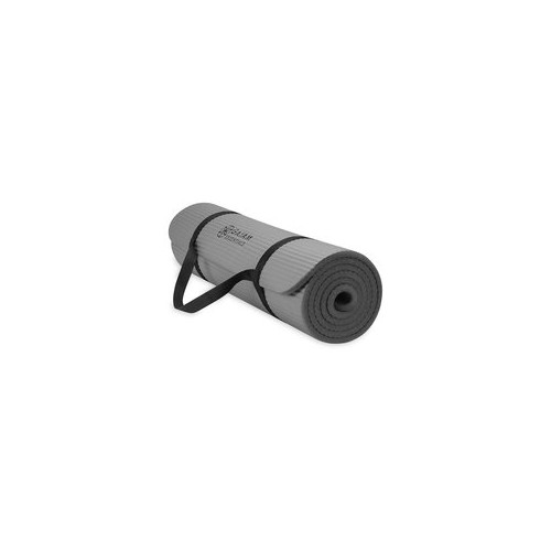 Gaiam Essentials Fitness Matte 10mm grau