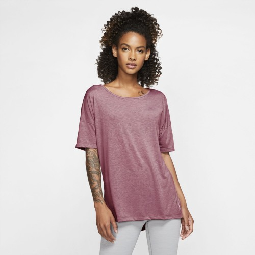Nike Short-Sleeve Yoga Damen