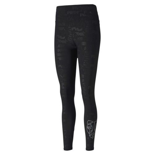 Puma Train Embossed High Rise 7/8 Tight Hose