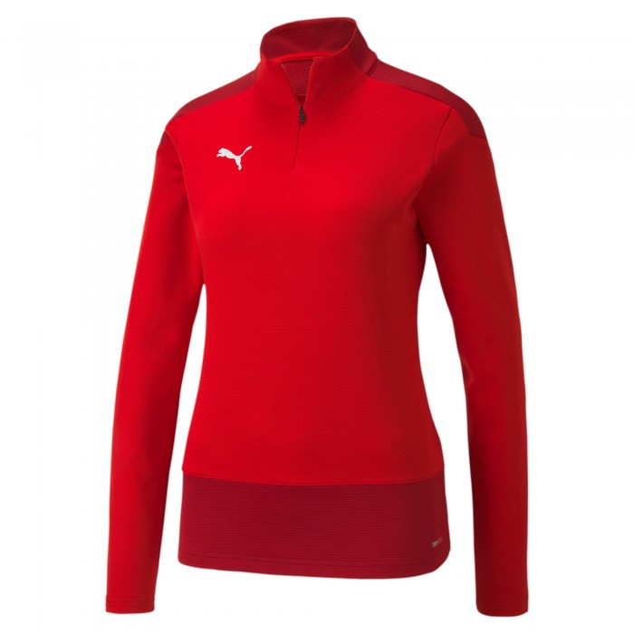 Puma teamGOAL 23 1/4 Zip Top Damen