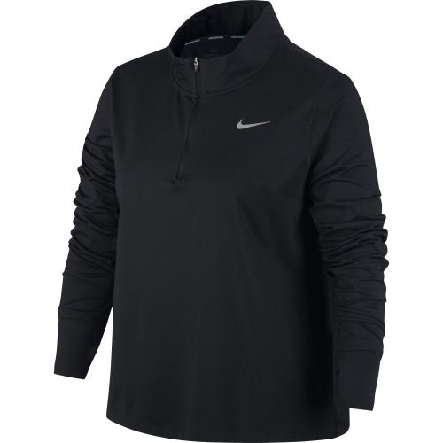 Nike Laufshirt Element 1/2-ZIP Damen
