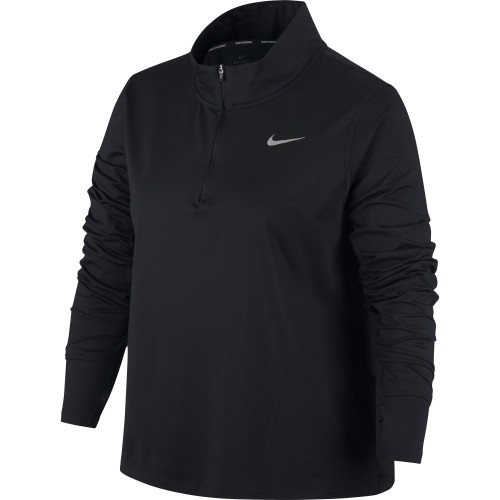Nike Laufshirt Element 1/2-ZIP Damen