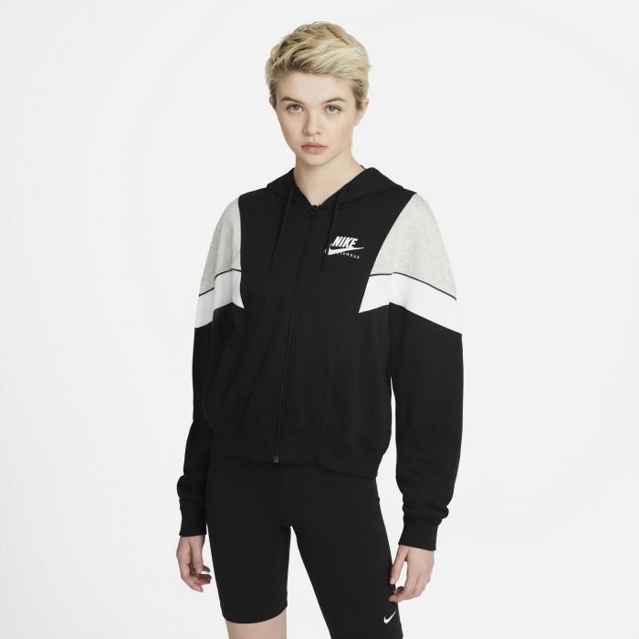 Nike Sportswear Heritage Zip Hoodie Jacke Damen