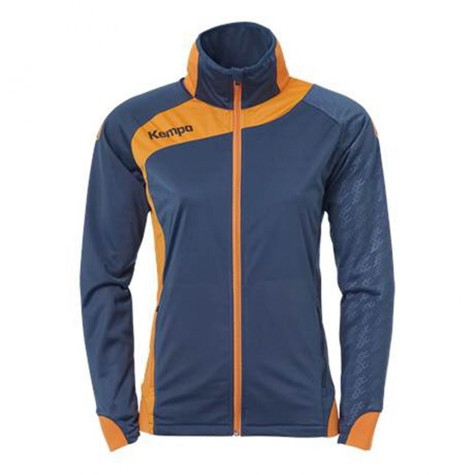Kempa Peak Multi Jacket Women petrol/orange