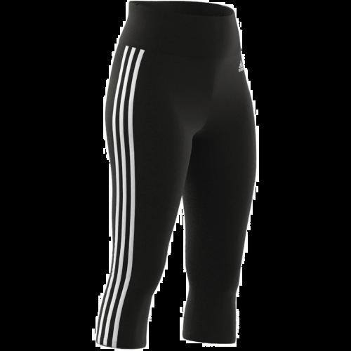 Adidas High-Rise 3-Streifen ¾ Hose Damen