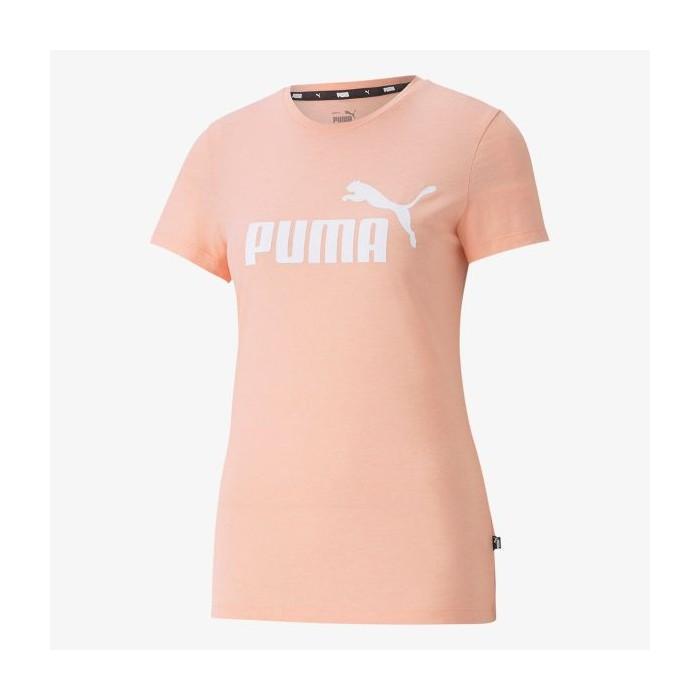 Puma Essential Logo Heather T-Shirt Damen