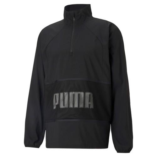 Puma Train Graphic Woven ½ Zip Jacket