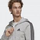 Adidas Essentials French Terry 3-Streifen Kapuzen Jacke