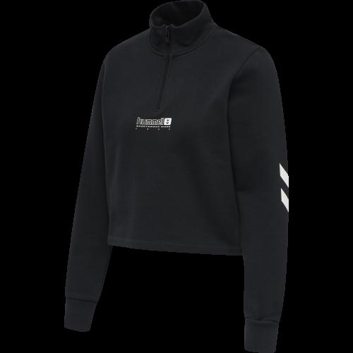 Hummel Sweatshirt Nikka Cropped ½ Zip Damen