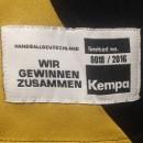Kempa DHB Trikot Elite Version schwarz/gold