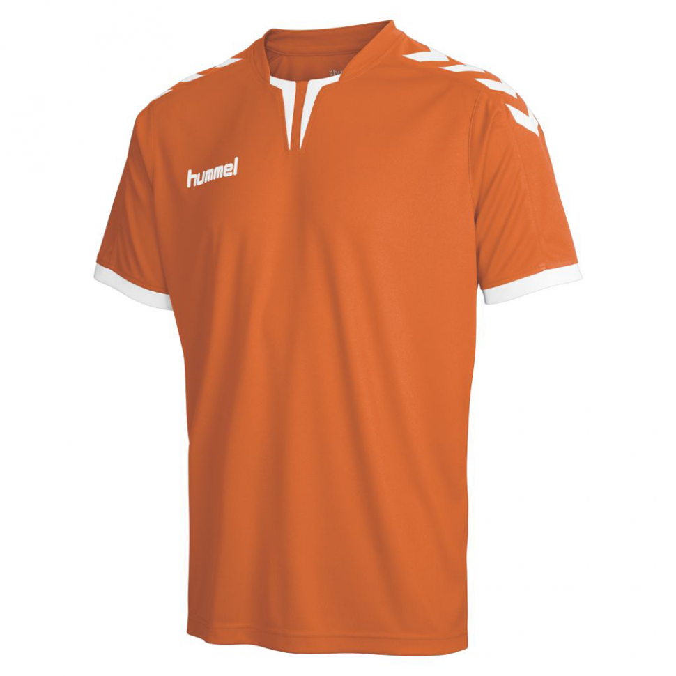 Hummel Jersey Core ss Poly Jersey for Kids orange