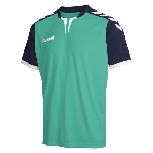 Hummel Jersey Core ss Poly Jersey for Kids mintgreen/marine