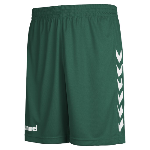 Hummel Core Poly Shorts for Kids dunkelgreen