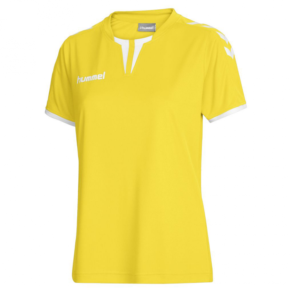Hummel Woman-Jersey Core SS Poly Jersey yellow