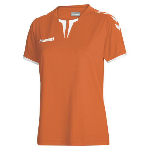 Hummel Damen-Trikot Core SS Poly Jersey orange