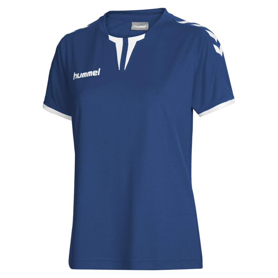 Hummel Woman-Jersey Core SS Poly Jersey dunkelblue