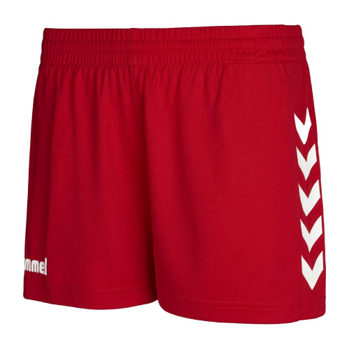 Hummel Core Poly Short Damen rot