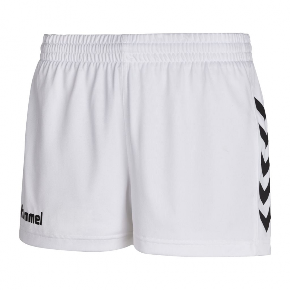 Hummel Woman Core Poly Shorts white