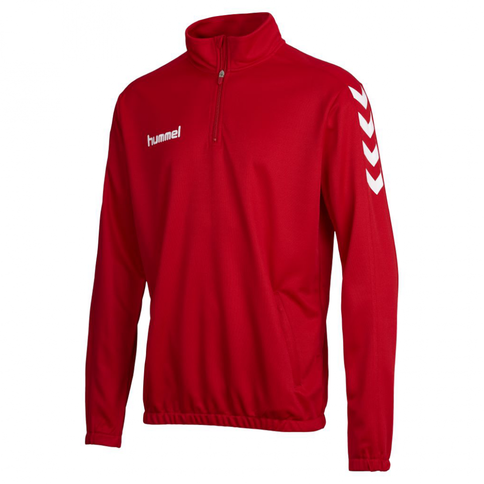Hummel Core 1/2 Zip Sweat für Kinder rot