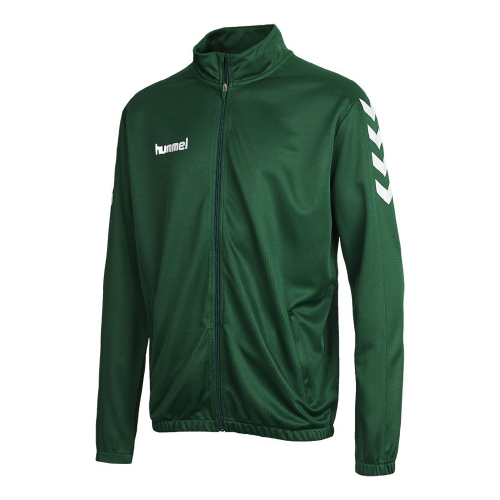 Hummel Core Poly Jacket dunkelgreen
