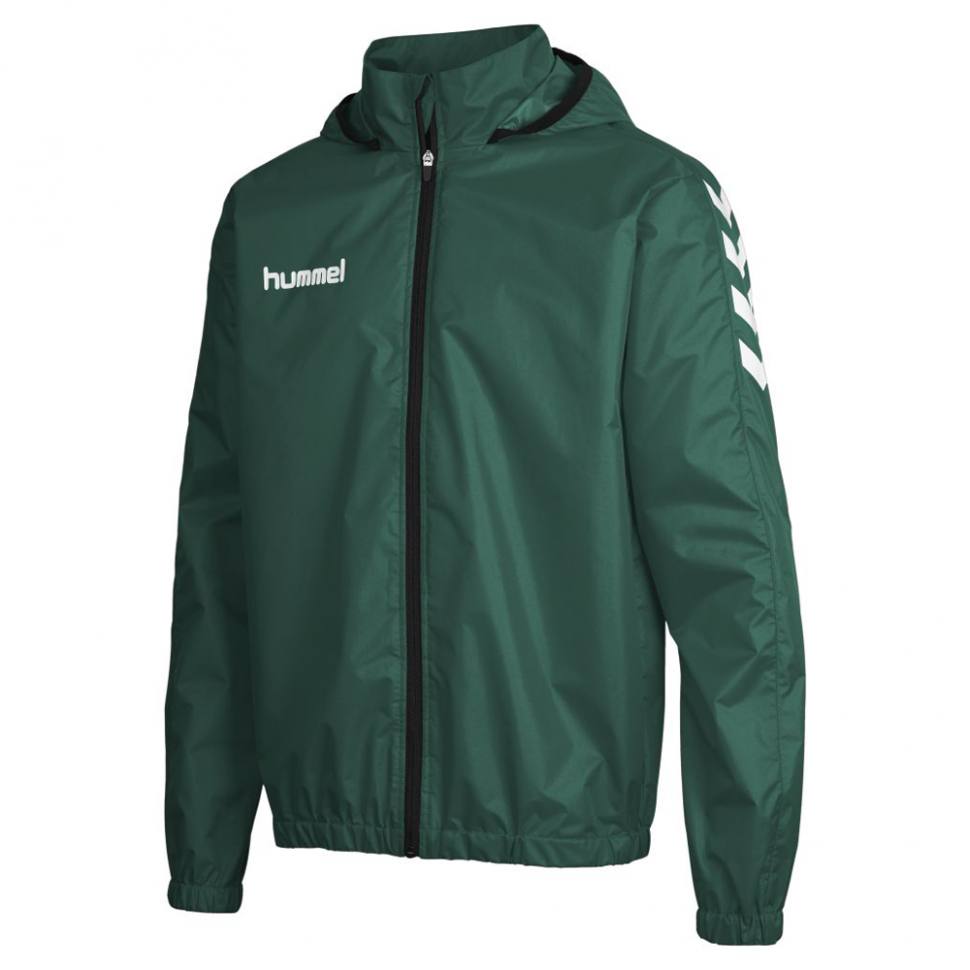 Hummel Core Raincoat for Kids dunkelgreen