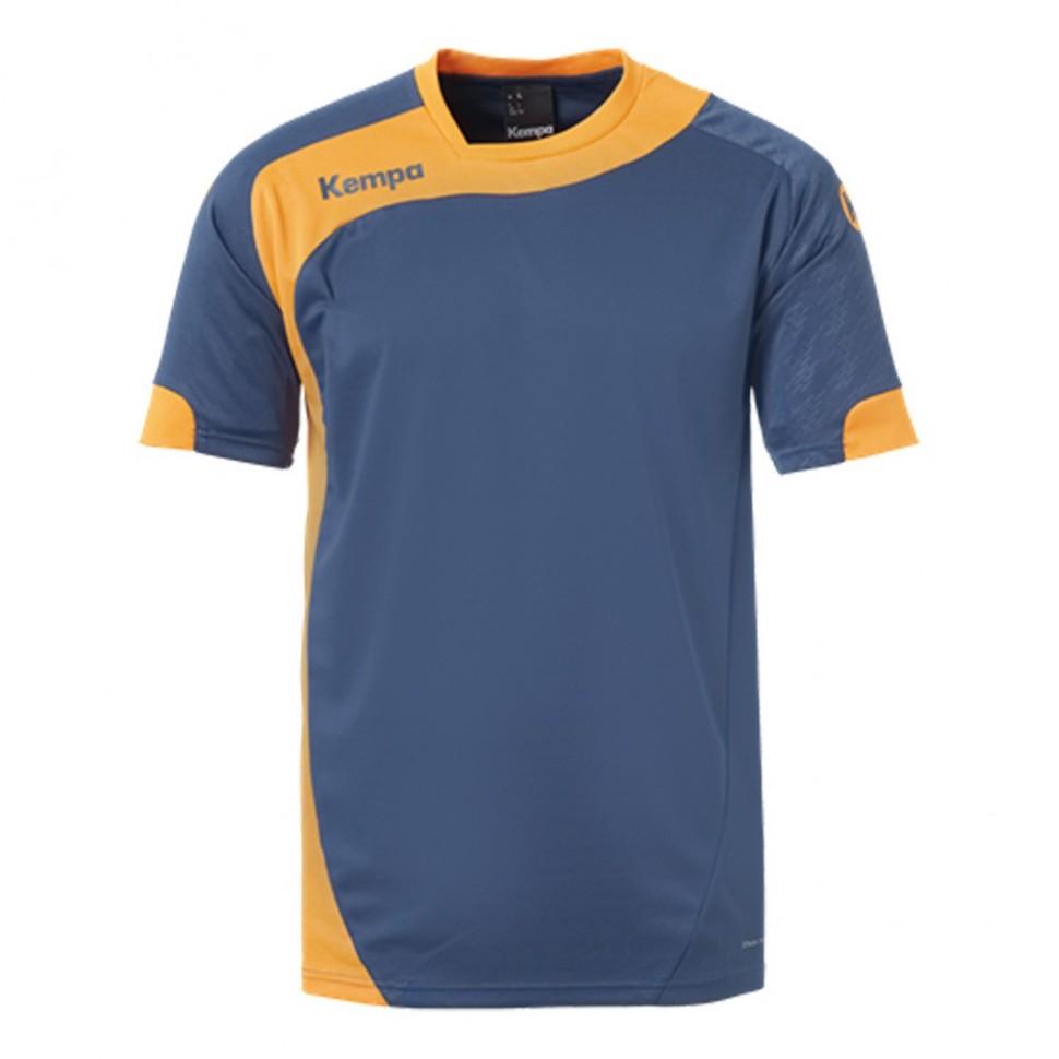 Kempa Peak Jersey for Kids petrol/orange