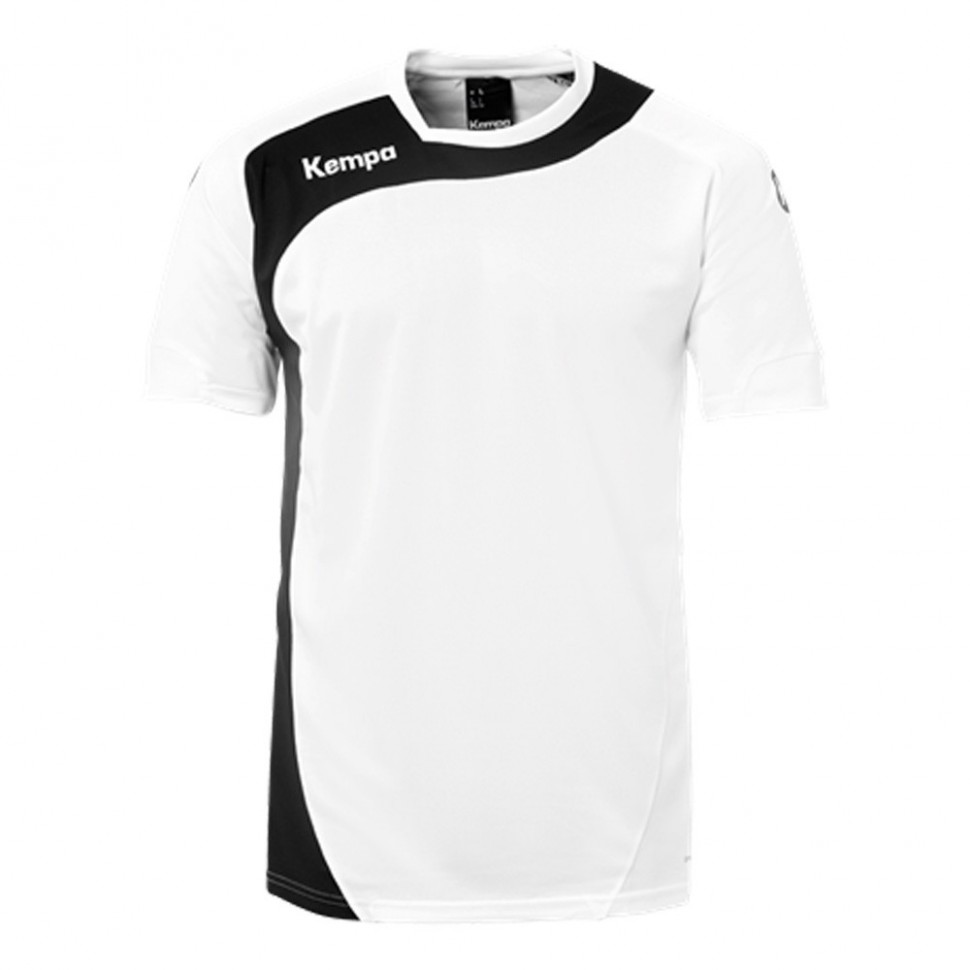 Kempa Peak Jersey for Kids white/black